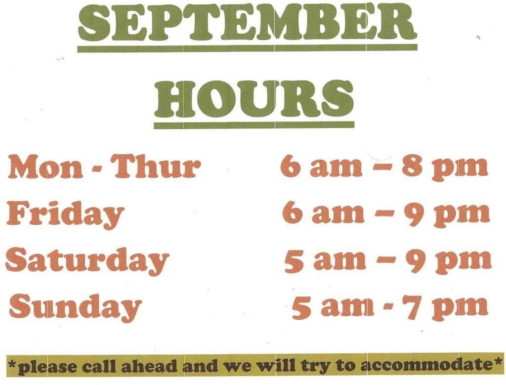September Hours 2013