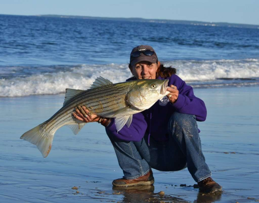 Surfland Bait and Tackle – Plum Island Fishing » Mom's big ...