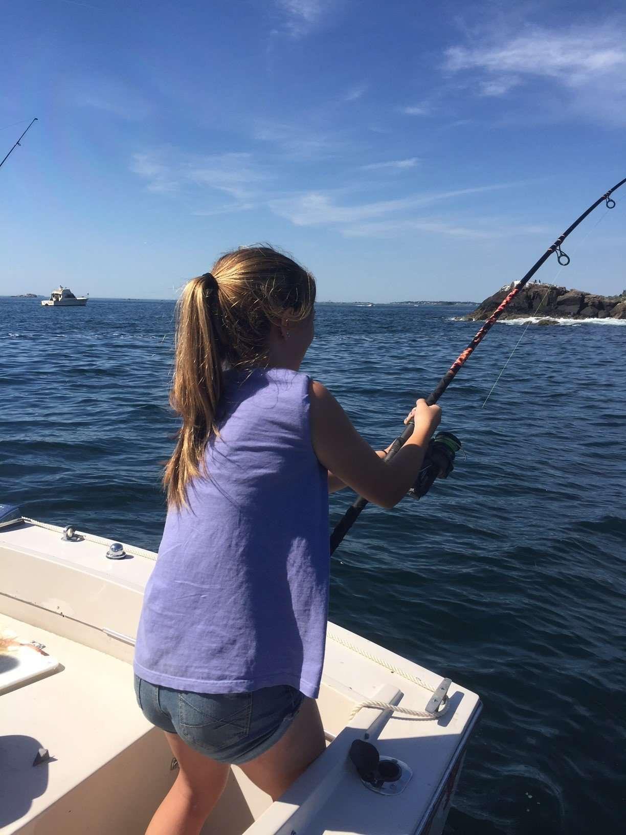 Surfland bait and tackle plum island fishing sammy for Island fishing tackle